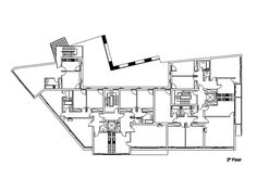 Collective Residential Building in Vila Nova de Tazem. Gouveia (Portugal). Architecture: Nuno Ladeiro. 2º Floor