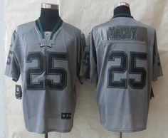 Men's Philadelphia Eagles LeSean McCoy Nike White Limited Jersey