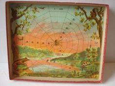 Antique-Game-of-the-Spiders-Web-McLoughlin-Brothers-1898