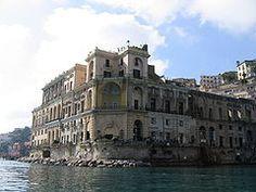 Napoli - Palazzo Donn'Anna a Posillipo