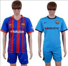 La nueva Primera Equipacion Camiseta Barcelona baratas 2017 2018 presenta un nuevo diseño de rayas que se desvanecen después de que la actual camisa casera reintrodujo las clásicas franjas de Blaugrana.