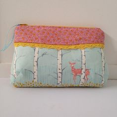 Curvy Clutch Pattern by Pink Door Fabrics