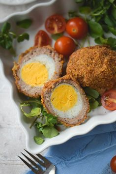 Classic Scotch Eggs (Baked or Fried)