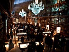 Biblioteca Braidense, in the Accademia di Belle Arti di Brera, Milan, Italy
