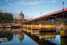 The bridge of Arts in Paris #PatrickBorgenMD