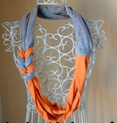 T-shirt Braided Scarf | Make Create Do
