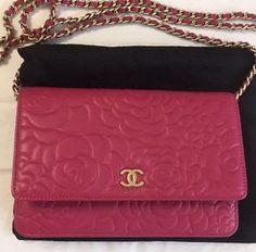 Auth-LIKE-NW-Chanel-Classic-WOC-Crossbody-Bag-in-Fuchsia-Camellia-Lamb-Leather