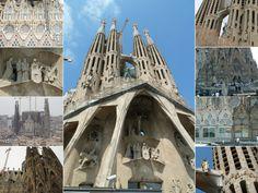 Sagrada Familia Basilica - Highlights of Barcelona – The Girls Who Wander The Girl Who, Wander, Highlights, Barcelona, Spain, Girls, Travel, Sagrada Familia, Little Girls
