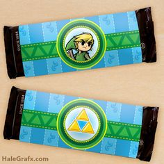 Click here to download FREE Legend of Zelda chocolate bar wrappers!