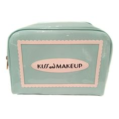 This durable cosmetic case is anything but a basic cosmetic bag! The roomy interior holds all of your beauty supplies. It's easy to grab and go but the case is so pretty you may decide to leave it on your vanity all the time!