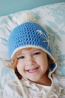 Alli Crafts: Free Pattern: Earflap Hat - Toddler...Sizes range from premie to 1 year. I love the flaps on this hat because it keeps the little ones warm!
