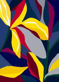 Ophelia Pang: dancing flowers