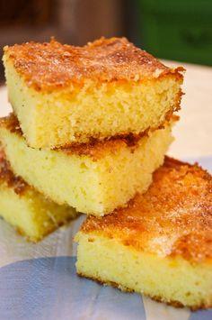 Sweet Corn Cakes Donut Recipes, Bread Recipes, Cake Recipes, Dessert Recipes, Cooking Recipes, Desserts, Food Cakes, Cupcake Cakes, Sweet Corn Cakes