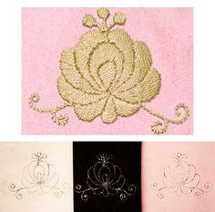 Hungarian Matyó rose Embroidery Kit