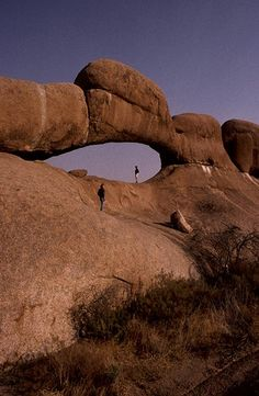 Spitzkoppe, Namibia. Arche by courregesg, via Flickr