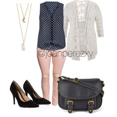 Untitled #118 by joanperezxv on Polyvore featuring polyvore fashion style maurices H&M Lipsy St. John's Bay With Love From CA