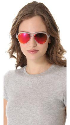 d2e8fb3502a Ray-Ban Mirrored Cats 5000 Aviator Sunglasses