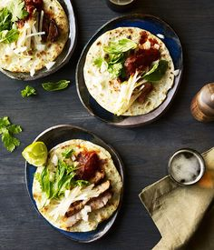 Toby Wilson from Ghostboy Cantina shares his recipe for his spicy Chinese pancake tacos with marinated pork.