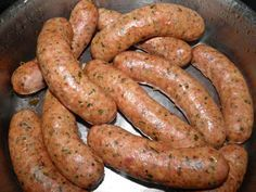 Devoid Of Culture And Indifferent To The Arts: Smokey Bacon Sausage Homemade Sausage Recipes, Bacon Recipes, Cooking Recipes, Sausage Seasoning, Bacon Sausage, Home Made Sausage, How To Make Sausage, Sausage Making, Jerky Recipes