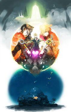 Kingdom Hearts - Vanitas, Roxas, Ventus, Sora