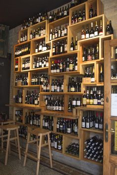 Pub Design, Store Design, Wine Shop Interior, Wine Cellar Basement, Wine And Spirits Store, Beer Shop, Brew Pub, Liquor Store, Wine Storage