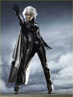 Halle Berry as Storm I love her character!