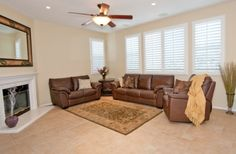 Family Room with built in media niche and surround sound.
