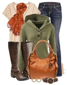 Simple Bright and Casual For Fall Outfits