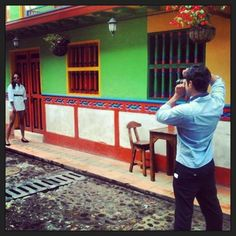 Photo-shooting in Guatapé with flats
