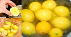Boil Lemons in Evening Drink the Liquid as You Wake UpYou Will Be Shocked by the Effects Healthy Detox, Healthy Foods To Eat, Healthy Drinks, Healthy Eating, Healthy Recipes, Detox Recipes, Smoothie Detox, Juice Smoothie, Smoothie Recipes