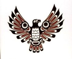 PNW native american thunderbird