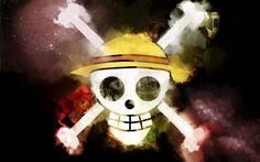 Fonds d'écran Manga > Fonds d'écran One Piece Mugiwara Flag par despear - Hebus.com