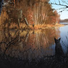 Jakub rozalski 1920 on the shores