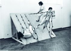 tagged robert morris, but i thought this was a choreographer's work?  trisha brown? -ks