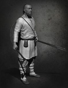 ArtStation - Early slavic warrior , Dimitar Popov