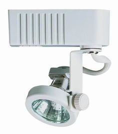 Cal Lighting HT-251EX24 1 Light Adjustable Low Voltage 50 Watt Track Head with 2 Frosted White Indoor Lighting Track Lighting Heads
