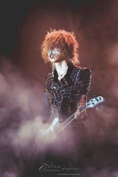 The awesome, badass Bassist of, the GazettE, Reita. m/