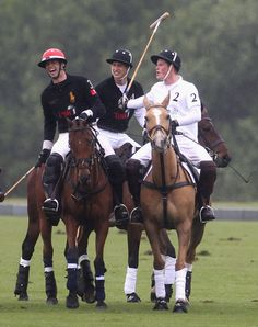 Prince William and Prince Harry Photo - Sentebale Polo Cup