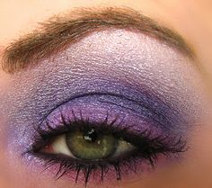 Purple Fairy Look for Your Eyes -  Using the 120 Palette