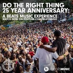 Relive 'Do the Right Thing' - documenting the moments that moved our culture. Presenting Spike's new short film #DTRT25 - via @BeatsMusic. http://beats.mu/q02T9