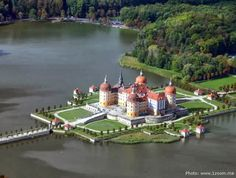 Moritzburg Castle - In Moritzburg, Dresden, Germany. Watch videos http://destinations-for-travelers.blogspot.com/2013/10/moritzburg-castle-in-moritzburg-dresden-germany.html