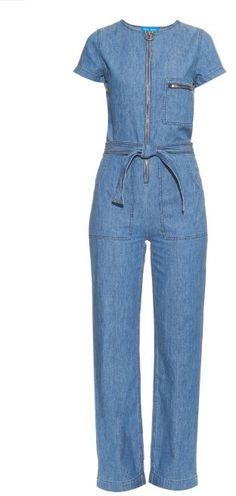 ccea50530e16 MiH Jeans Saint denim jumpsuit