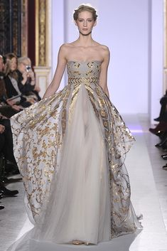 Zuhair Murad Spring Couture 2013 - Slideshow - Runway, Fashion Week, Reviews and Slideshows - WWD.com