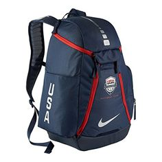 Nike Hoops Elite Max Air Team USA Olympics Basketball Backpack (Midnight  Navy Midnight Navy Metallic Silver) -- Learn more by visiting the image  link. e59921a756265