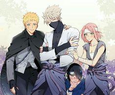 Naruto Shippuden Sasuke, Naruto Kakashi, Anime Naruto, Naruto Comic, Naruto Team 7, Naruto Sasuke Sakura, Naruto Cute, Naruto Fan Art, Anime Guys