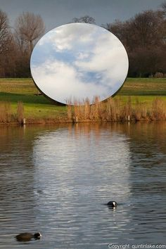 Anish Kapoor Mirror Reflection Photography