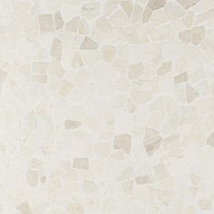 About The Tile: Heighten your indoor or outdoor designs with the Nature Lovina White Tumbled Mosaic. This 12x12 mosaic is made from tumbled stones that give off a cobblestone feeling with a touchable texture. With its organic, au natural look, it's perfect to use on shower floors, decks, or pools (Or anywhere you want to create an outdoorsy appearance, really!) About The Collection: Tap into the beauty of stone with our affordable Nature Collection. Made up of a flat stone option and a… White Mosaic Tiles, Marble Look Tile, Pebble Mosaic, Stone Tile Texture, Stone Tiles, Outdoor Flooring, Outdoor Walls, Outdoor Living, Pebble Stone Flooring
