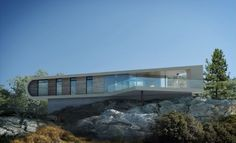 Alendal Summerhouse. Designed by Saunders Architecture. Vignafjord, Norway