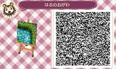 water path QR code QR animal crossing new leaf new leaf acnl