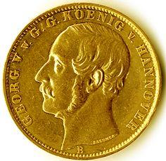 Hanover; Vereinskrone King George V. From gold, vz    Dealer  Karl Pfankuch & Co    Auction  Minimum Bid:  1000.00EURO